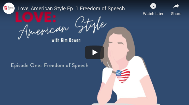 Love, American Style: Marriage And The Freedom Of Speech